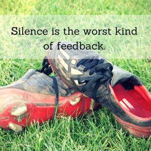 silence is worst